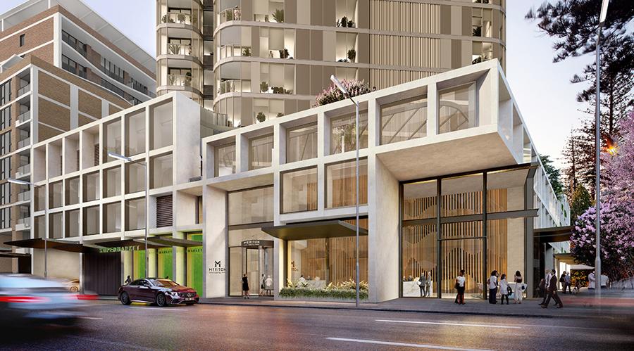 AVO Piling Meriton Apartments 180 George Street Parramatta