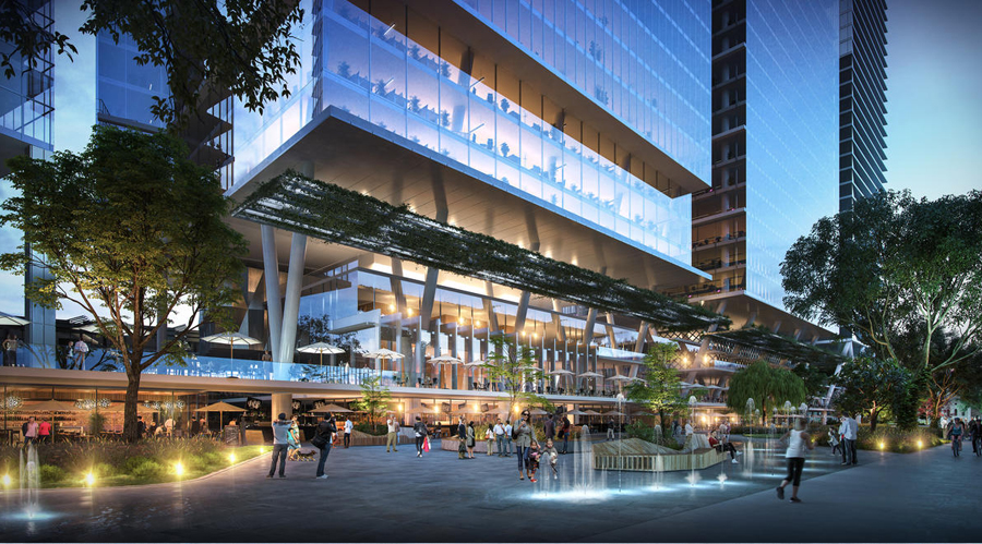CETCO Parramatta Square Polyurethane Injection
